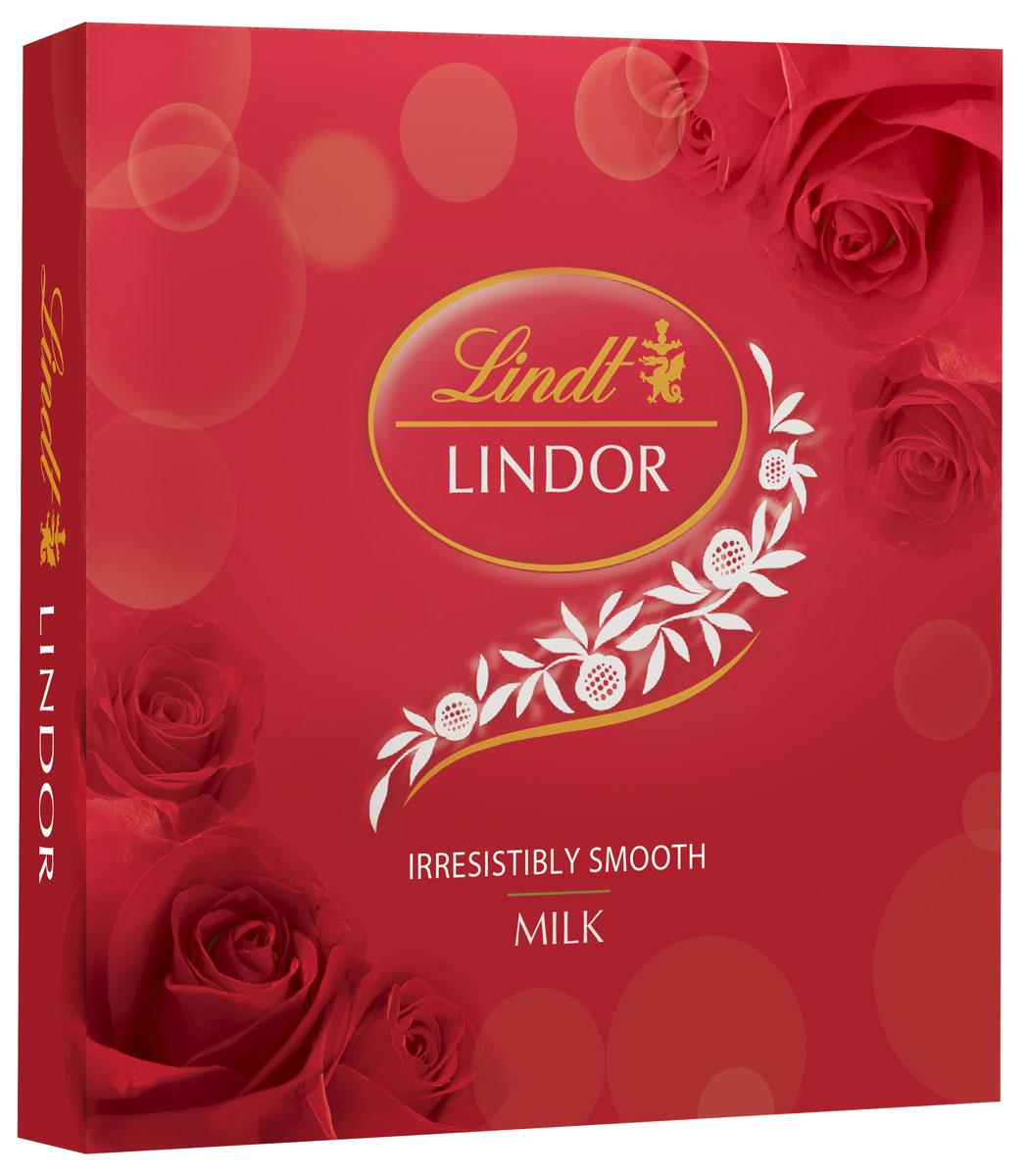Lindt Линдор Конфеты из молочного шоколада, 125 г4620012750586Конфеты из молочного шоколада с нежной, тающей начинкой.