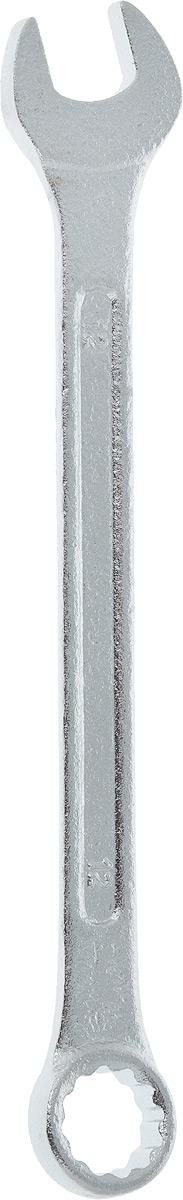 Ключ гаечный комбинированный Helfer, 12 мм80621Комбинированный ключ Helfer предназначен для работы с резьбовыми соединениями. Разрезные головки ключей обеспечивают надежный обхват детали и большой крутящий момент. Размеры зева (отверстия) отвечают всем стандартам. Ключ выполнен из углеродистой стали, которая отличается повышенной прочностью.Такой инструмент станет отличным помощником монтажнику или владельцу авто. Длина ключа: 16 см.Диаметр головки: 12 мм.