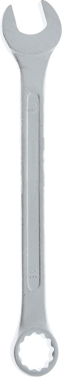 Ключ гаечный комбинированный Helfer, 18 ммHF002012Комбинированный ключ Helfer предназначен для работы с резьбовыми соединениями. Разрезные головки ключей обеспечивают надежный обхват детали и большой крутящий момент. Размеры зева (отверстия) отвечают всем стандартам. Ключ выполнен из углеродистой стали, которая отличается повышенной прочностью. Такой инструмент станет отличным помощником монтажнику или владельцу авто. Длина ключа: 22 см. Диаметр головки: 18 мм.