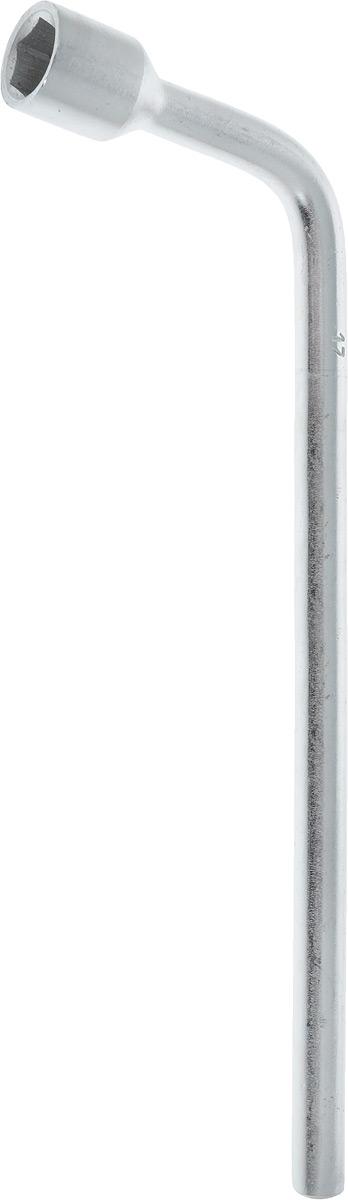 Ключ баллонный Helfer, Г-образный, 17 мм х 30 смCA-3505Ключ балонный Г-образный выполнен из инструментальной стали, обеспечивает долгосрочное использование изделия. Ключ оснащен усиленной конструкцией.Торцевая головка: 17 мм. Длина ключа: 30 см.