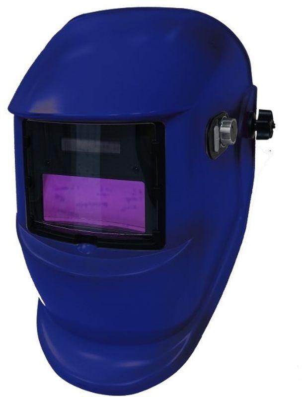 """Щиток сварщика Krass """"Wega"""", с АСФ GX 400X, цвет: синий 2962046"""