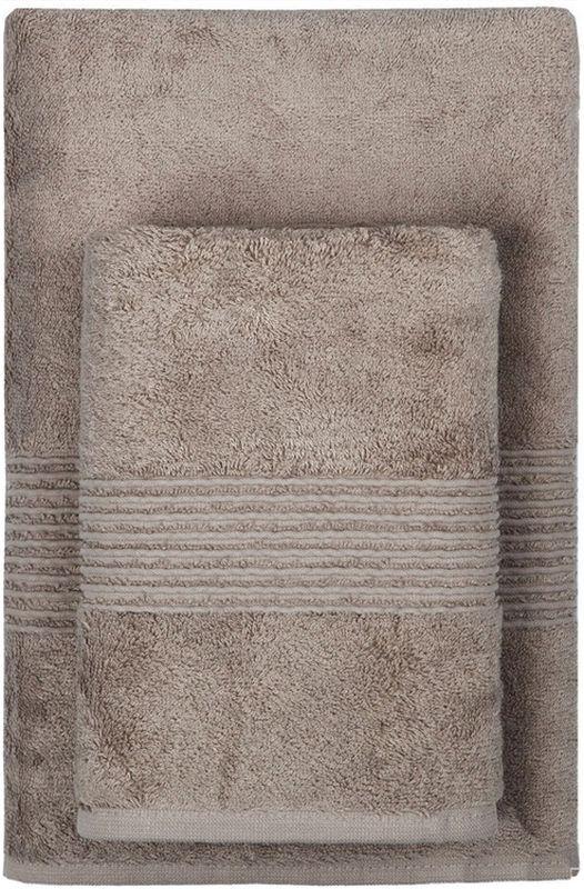 Полотенце махровое TAC Maison Bambu, цвет: коричневый, 50 x 90 смS03301004Полотенца ТАС приятно удивляют и дают возможность почувствовать себя творцом окружающего декора. Махровая ткань – официальное название фроте, народное – махра. Фроте – это натуральная ткань, поверхность которой состоит из ворса (петель основных нитей). Ворс может быть как одинарным (односторонним), так и двойным (двусторонним).Размер полотенца: 50 x 90 см.