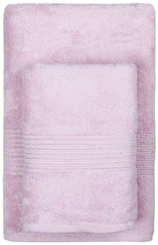 Полотенце махровое TAC Maison Bambu, цвет: розовый, 50 x 90 см2999m-89653Полотенца ТАС приятно удивляют и дают возможность почувствовать себя творцом окружающего декора. Махровая ткань – официальное название фроте, народное – махра. Фроте – это натуральная ткань, поверхность которой состоит из ворса (петель основных нитей). Ворс может быть как одинарным (односторонним), так и двойным (двусторонним).
