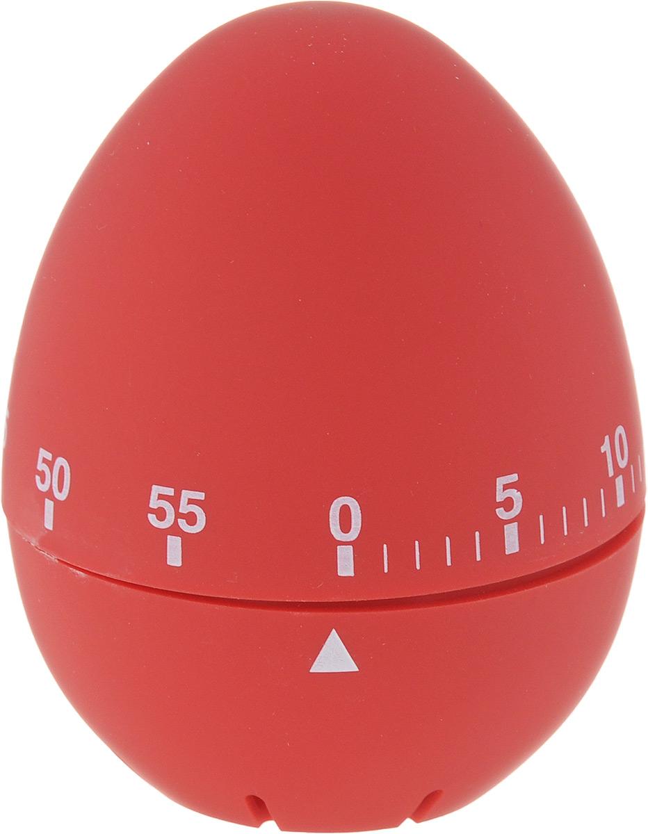 Таймер кухонный Zeller Яйцо, на 60 мин, цвет: красный27247_красныйКухонный таймер Zeller Яйцо изготовлен из пластика и металла. Таймер выполнен в виде куриного яйца. Максимальное время, на которое вы можете поставить таймер, составляет 60 минут. После того, как время истечет, таймер громко зазвенит. Оригинальный дизайн таймера украсит интерьер любой современной кухни, и теперь вы сможете без труда вскипятить молоко, отварить пельмени или вовремя вынуть из духовки аппетитный пирог.