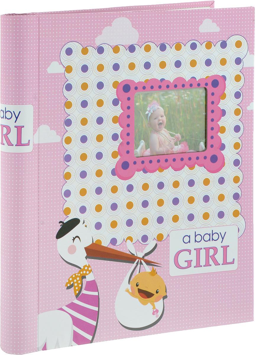 Фотоальбом Platinum Малыши - 2, 30 листов, цвет: розовый. 9820-30/F3М1614_розовый, 9820-30/FФотоальбом Platinum Малыши - 2, изготовленный из ламинированного картона с клеевым покрытием и пленки, поможет сохранить вам самые важные и счастливые события жизни вашего ребенка. Этот альбом станет драгоценной памятью для вас, вашего ребенка и, возможно, ваших внуков. Обложка выполнена из толстого картона и оформлена оригинальным рисунком. Лицевая сторона обложки имеет окошечко для фотографии. Внутри содержится 30 магнитных листов, которые крепятся с помощью спирали. Нам всегда так приятно вспоминать о самых счастливых моментах жизни, запечатленных на фотографиях. Размер листа: 22,5 х 28 см.