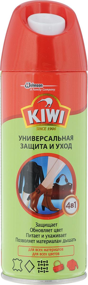 Средство по уходу за изделиями из кожи, замши и текстиля Kiwi