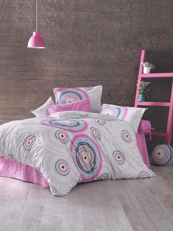 Комплект белья Clasy Sahara, евро, наволочки 50х70, цвет: розовый00000005336Комплект постельного белья Clasy Sahara состоит из пододеяльника, простыни и двух наволочек. Товары под брендом Clasy изготовлены в Турции из высококачественного хлопка на одной из ведущих фабрик. Выбирая постельное белье Clasy вы будете приятно удивлены качественной выделкой ткани, красивыми и модными расцветками, а так же его отличным качеством. Все наволочки у комплектов Clasy имеют клапан без пуговиц и молнии. Все пододеяльники с пуговицами на нижнем конце. Все изделия упакованы в подарочные картонные коробки, к которым прилагается фирменный пакет с логотипом.