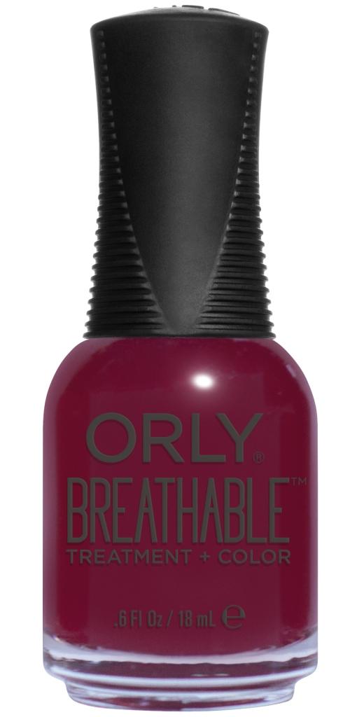 Orly Профессиональный дышащий уход (цвет) за ногтями 903 THE ANTIDOTE 18 мл20903Бренд ORLY разработал первый профессиональный цветной дышащий уход за ногтями BREATHABLE. Инновационная дышащая технология BREATHABLE создаёт на ногте проницаемую пленку, позволяющую кислороду, влаге и активным ингредиентам препарата достигать поверхности ногтя. BREATHABLE от ORLY — уход и цвет в одном флаконе! Преимущества BREATHABLE от ORLY: 1. Способствует росту и укреплению ногтей благодаря дышащей технологии и формуле с аргановым маслом, витамином С и провитамином В5. 2. Формула «Все в одном» позволяет наносить BREATHABLE без использования базового и верхнего покрытий. 3. Запатентованная плоская кисть для удобного нанесения. · 4. Стойкость. Палитра BREATHABLE от ORLY — это роскошные оттенки и прозрачный блеск-уход для ультраглянца. Стильный маникюр и профессиональный уход – это новинка BREATHABLE от ORLY!