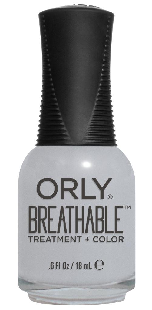 Orly Профессиональный дышащий уход (цвет) за ногтями 906 POWER PACKED 18 мл20906Бренд ORLY разработал первый профессиональный цветной дышащий уход за ногтями BREATHABLE. Инновационная дышащая технология BREATHABLE создаёт на ногте проницаемую пленку, позволяющую кислороду, влаге и активным ингредиентам препарата достигать поверхности ногтя. BREATHABLE от ORLY — уход и цвет в одном флаконе! Преимущества BREATHABLE от ORLY: 1. Способствует росту и укреплению ногтей благодаря дышащей технологии и формуле с аргановым маслом, витамином С и провитамином В5. 2. Формула «Все в одном» позволяет наносить BREATHABLE без использования базового и верхнего покрытий. 3. Запатентованная плоская кисть для удобного нанесения. · 4. Стойкость. Палитра BREATHABLE от ORLY — это роскошные оттенки и прозрачный блеск-уход для ультраглянца. Стильный маникюр и профессиональный уход – это новинка BREATHABLE от ORLY!
