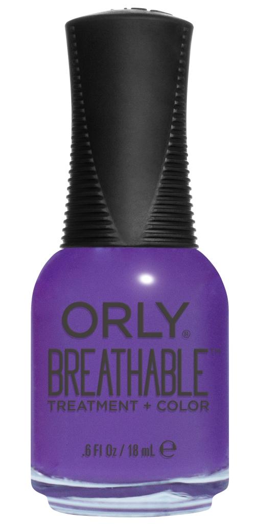 Orly Профессиональный дышащий уход (цвет) за ногтями 912 PICK-ME-UP 18 мл20912Бренд ORLY разработал первый профессиональный цветной дышащий уход за ногтями BREATHABLE. Инновационная дышащая технология BREATHABLE создаёт на ногте проницаемую пленку, позволяющую кислороду, влаге и активным ингредиентам препарата достигать поверхности ногтя. BREATHABLE от ORLY — уход и цвет в одном флаконе! Преимущества BREATHABLE от ORLY: 1. Способствует росту и укреплению ногтей благодаря дышащей технологии и формуле с аргановым маслом, витамином С и провитамином В5. 2. Формула «Все в одном» позволяет наносить BREATHABLE без использования базового и верхнего покрытий. 3. Запатентованная плоская кисть для удобного нанесения. · 4. Стойкость. Палитра BREATHABLE от ORLY — это роскошные оттенки и прозрачный блеск-уход для ультраглянца. Стильный маникюр и профессиональный уход – это новинка BREATHABLE от ORLY!