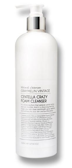 Graymelin, Очищающая пенка, Centella Crazy Foam Cleanser, 500 мл 8809429953681