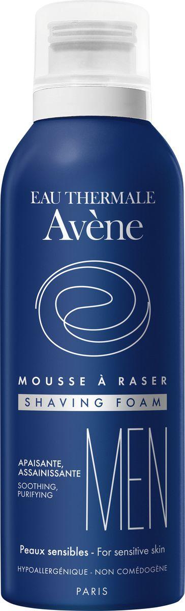 Avene Men Пена для бритья, 200 млC50976Эта обволакивающая и воздушная пена обеспечивает на 100% приятное и безопасное бритье. Преимущества: Очищение: Очищает кожу и сокращает риск возникновения бактерий при микропорезах. Увлажнение: Ее увлажняющее вещество (глицерин) смягчает кожу, делая ее более упругой. Успокаивающее действие: Успокаивающие и снимающие раздражение свойства термальной воды Avene придают коже настоящее ощущение комфорта.