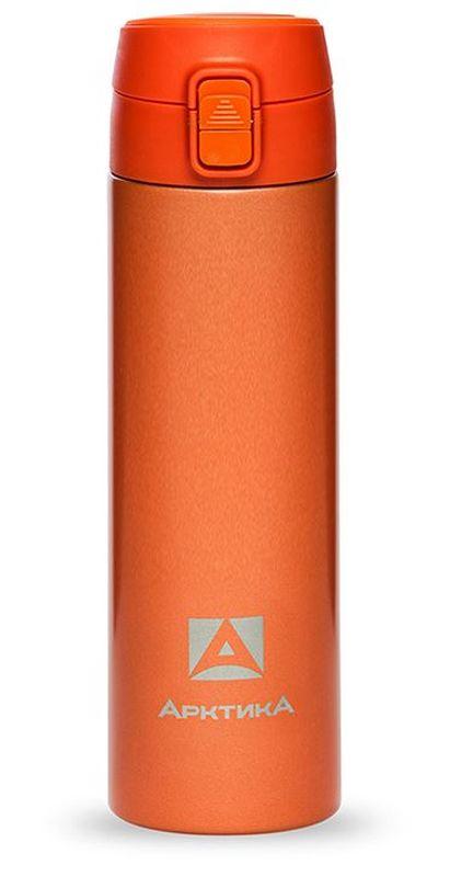 Термос-сититерм Арктика, вакуумный, цвет: оранжевый, 0,35 лТермос 705-350ор АрктикаТЕРМОС ПИТЬЕВОЙ Назначение Для напитков Материал Пищевая нержавеющая сталь 18/8 Держит тепло/холод (ч) 6 Объем (мл) 350 мл