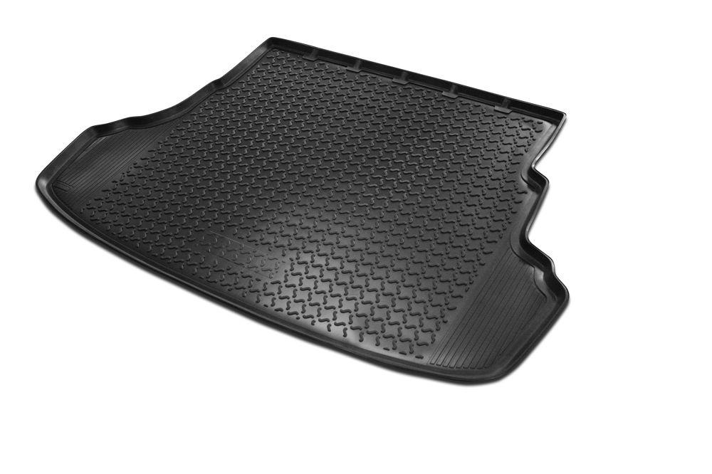 Ковер багажника Rival для Opel Astra H SD (2004-2012)0014202004Коврик багажника Rival позволяет надежно защитить и сохранить от грязи багажный отсек вашего автомобиля на протяжении всего срока эксплуатации, полностью повторяют геометрию багажника. - Высокий борт специальной конструкции препятствует попаданию разлившейся жидкости и грязи на внутреннюю отделку. - Произведены из первичных материалов, в результате чего отсутствует неприятный запах в салоне автомобиля. - Рисунок обеспечивает противоскользящую поверхность, благодаря которой перевозимые предметы не перекатываются в багажном отделении, а остаются на своих местах. - Высокая эластичность, можно беспрепятственно эксплуатировать при температуре от -45 ?C до +45 ?C. - Изготовлены из высококачественного и экологичного материала, не подверженного воздействию кислот, щелочей и нефтепродуктов. Уважаемые клиенты! Обращаем ваше внимание, что коврик имеет форму соответствующую модели данного автомобиля. Фото служит для визуального восприятия товара.