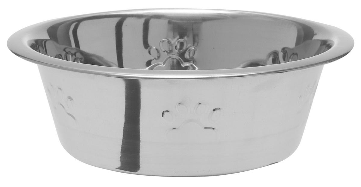 Миска для собак Dezzie Лапа, 2,8 л5612072С приобретением миски DEZZIE владелец может быть спокоен за безопасность и хороший внешний вид любимой посуды своего питомца. Миска имеет антискользящие резиновые вставки.