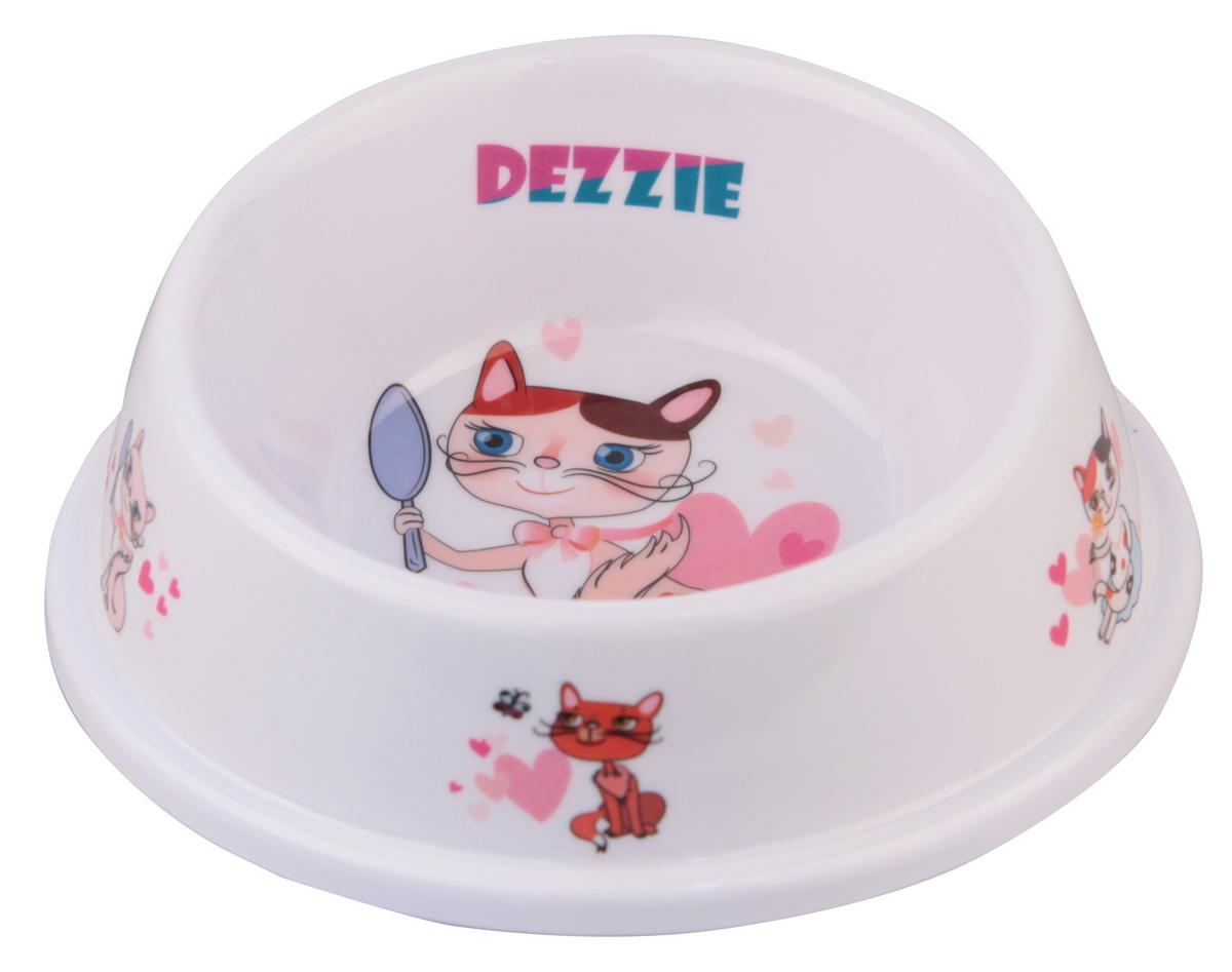 Миска для кошек Dezzie Охотник, разноуровневая, 150 мл5619044Разноуровневая миска для кошек Dezzie Охотник, выполненная из пластика и оформленная красочным изображением, отличается легкостью и удобством применения. Она легко моется и быстро высыхает. Миска имеет резиновые антискользящие вставки. Размер миски: 4 x 5,5 x 14,5 см. Объем миски: 150 мл.