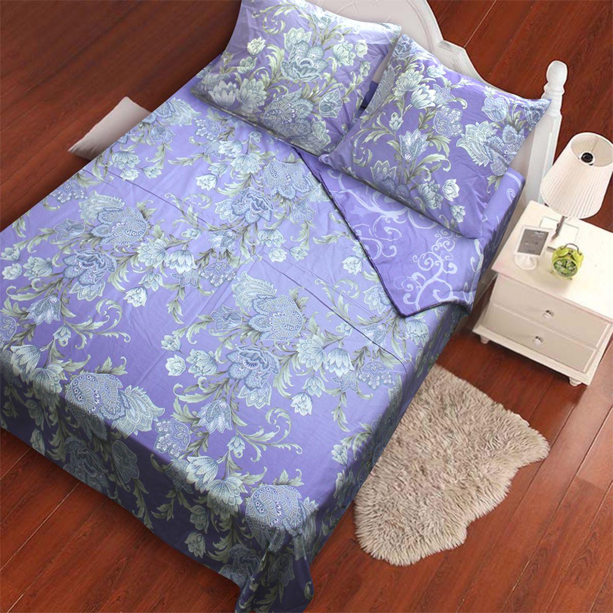 Комплект белья Amore Mio Lillac, 1,5-спальный, наволочки 70x70, цвет: синий, серый, бежевыйS03301004Amore Mio – Комфорт и Уют - Каждый день! Amore Mio предлагает оценить соотношению цены и качества коллекции. Разнообразие ярких и современных дизайнов прослужат не один год и всегда будут радовать Вас и Ваших близких сочностью красок и красивым рисунком. Что такое Satin/Сатин.-это ткань сатинового (атласного) переплетения нитей. Имеет гладкую, шелковистую лицевую поверхность, на которой преобладают уточные нити (уток – горизонтально расположенные в тканом полотне нити). Сатин изготавливается из крученой хлопковой нити двойного плетения. Он чрезвычайно приятен на ощупь, не электризуется и не скользит по кровати. Сатин прекрасно сохраняет форму и не мнется, отлично пропускает воздух, что позволяет телу дышать и дарит здоровый и комфортный сон.
