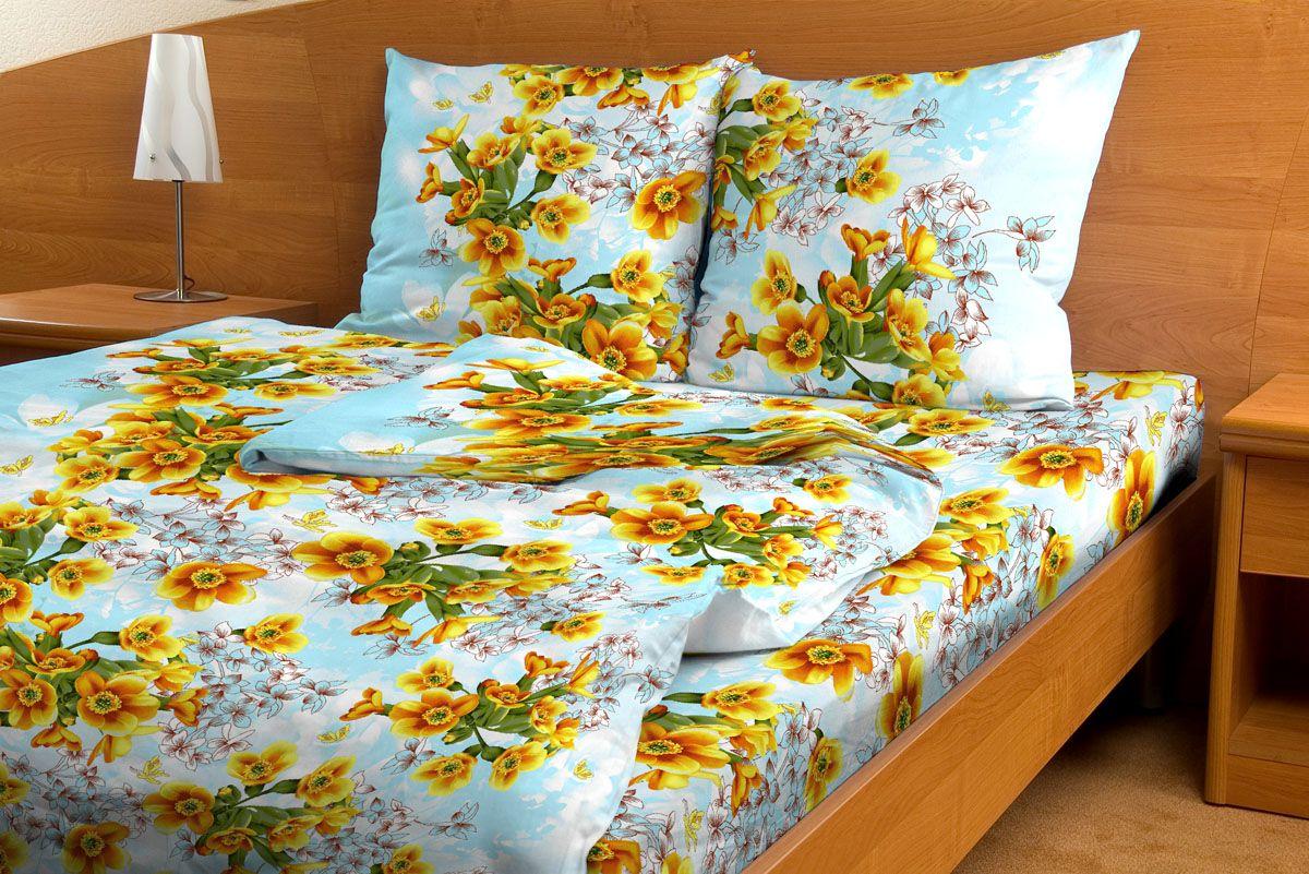 Комплект белья Amore Mio Vanilla, 1,5-спальный, наволочки 70x70, цвет: голубой, желтый, зеленый83933Комплект постельного белья Amore Mio является экологически безопасным для всей семьи, так как выполнен из бязи (100% хлопок). Постельное белье оформлено оригинальным рисунком и имеет изысканный внешний вид. Легкая, плотная, мягкая ткань отлично стирается, гладится, быстро сохнет. Комплект состоит из пододеяльника, простыни и двух наволочек.