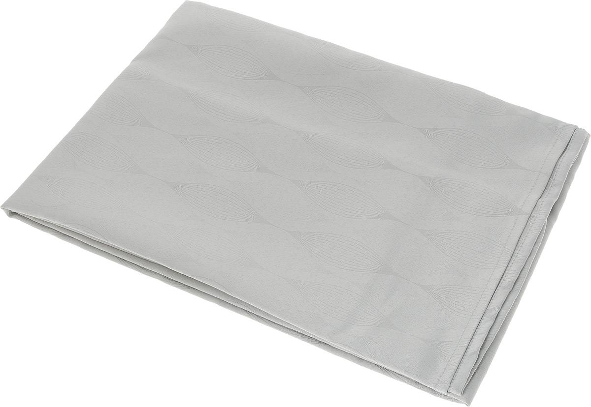 Скатерть Schaefer, квадратная, цвет: серебристый, 150 х 150 см. 07734-41607734-416Квадратная скатерть Schaefer, выполненная из полиэстера с оригинальным рисунком, станет изысканным украшением кухонного стола. За текстилем из полиэстера очень легко ухаживать: он не мнется, не садится и быстро сохнет, легко стирается, более долговечен, чем текстиль из натуральных волокон. Использование такой скатерти сделает застолье торжественным, поднимет настроение гостей и приятно удивит их вашим изысканным вкусом. Также вы можете использовать эту скатерть для повседневной трапезы, превратив каждый прием пищи в волшебный праздник и веселье. Это текстильное изделие станет изысканным украшением вашего дома!