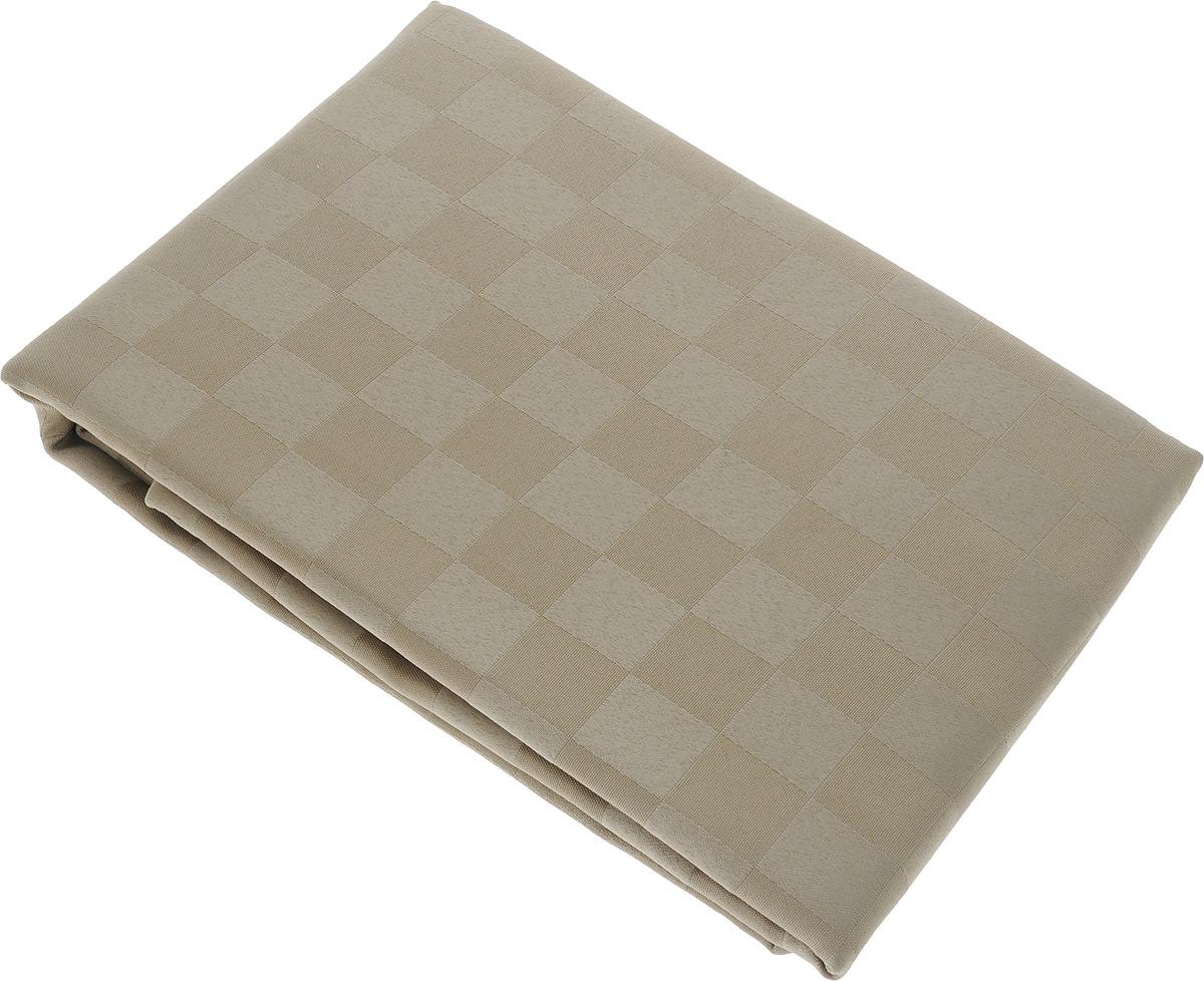 """Скатерть """"Schaefer"""", прямоугольная, цвет: светло-коричневый, 160 x 220 см. 4169/FB.06 4169/FB.06 Скатерть, 160*220 см"""