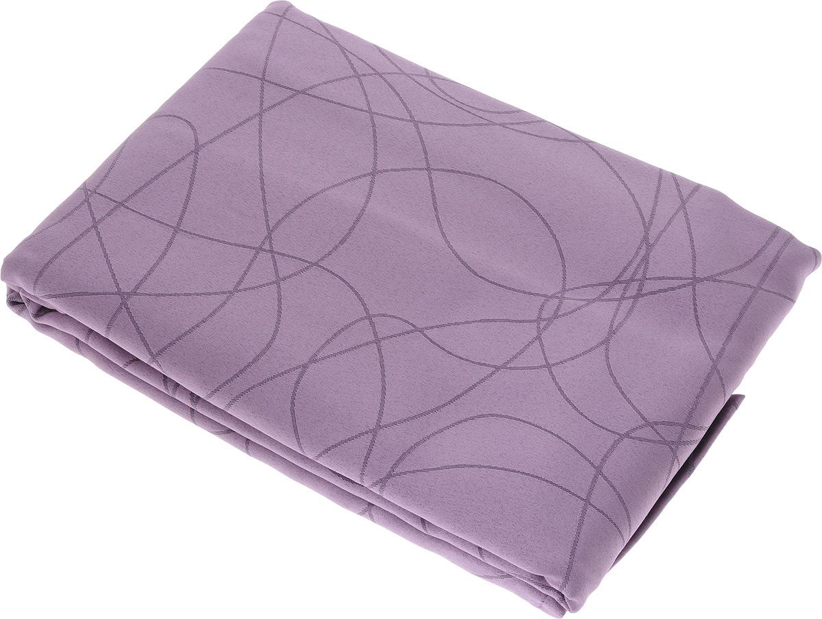 Скатерть Schaefer, прямоугольная, цвет: сиреневый, 150 x 250 см. 07748-45107748-451Прямоугольная скатерть Schaefer, выполненная из полиэстера с оригинальным рисунком, станет изысканным украшением кухонного стола. За текстилем из полиэстера очень легко ухаживать: он не мнется, не садится и быстро сохнет, легко стирается, более долговечен, чем текстиль из натуральных волокон. Использование такой скатерти сделает застолье торжественным, поднимет настроение гостей и приятно удивит их вашим изысканным вкусом. Также вы можете использовать эту скатерть для повседневной трапезы, превратив каждый прием пищи в волшебный праздник и веселье. Это текстильное изделие станет изысканным украшением вашего дома!
