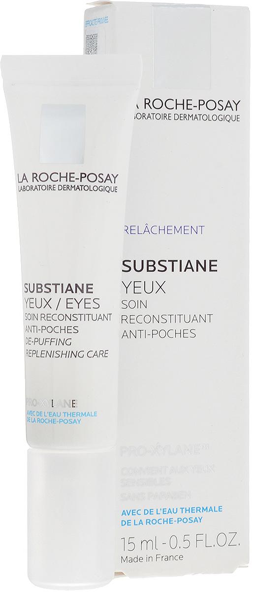 """La Roche-Posay Восстанавливающее средство для контура глаз для зрелой кожи Substiane [+] 15 млFS-00103Инновация для зрелой кожи Инновация для зрелой кожи: уникальное сочетание компонентов LINACTYL + PRO-XYLANE™ улучшает регенерацию кожи, воздействуя на ее структуру..Обеспечивает коже длительное чувство комфорта, возвращает ей сияющий вид. Клинические исследования подтвердили эффективное воздействие SUBSTIANE - кожа становится более подтянутой, """"мешки"""" под глазами уменьшаются."""