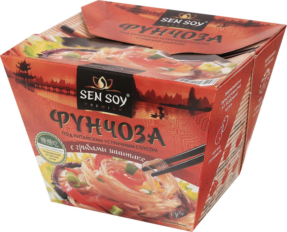Sen Soy Вермишель фунчоза под китайским устричным соусом, 125 г 4607041134907
