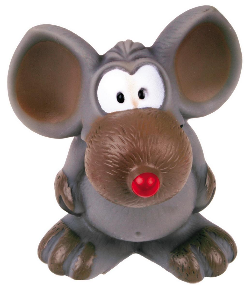 Игрушка для собак Dezzie Мышь, высота 10 см5604145Игрушка для собак Dezzie Мышь изготовлена из винила в виде мышки. Такая игрушка практична, функциональна и совершенно безопасна для здоровья животного. Ее легко мыть и дезинфицировать. Игрушка очень легкая, поэтому собаке совсем нетрудно брать ее в пасть и переносить с места на место. Игрушка для собак Dezzie Мышь станет прекрасным подарком для неугомонного четвероногого питомца. Высота игрушки: 10 см.