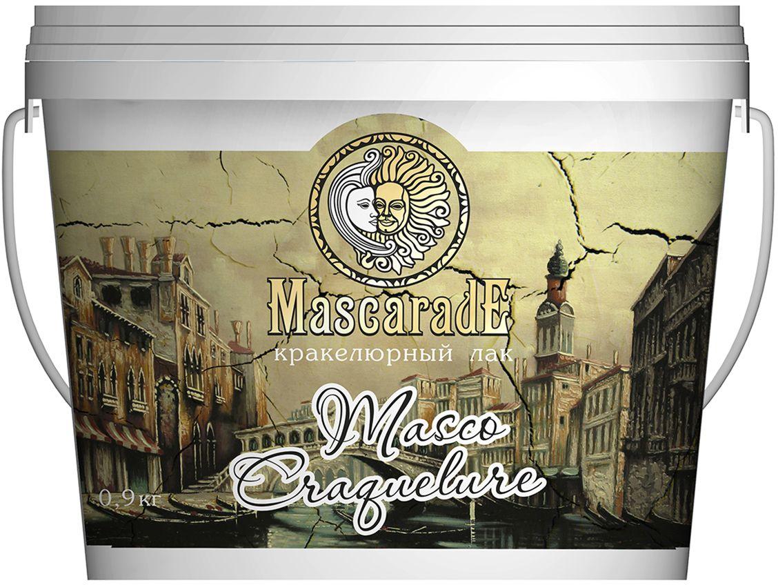 """Лак MascaradE """"Masco Craguelure"""", эффект старины под краску, 0,9 кг 00000000544"""