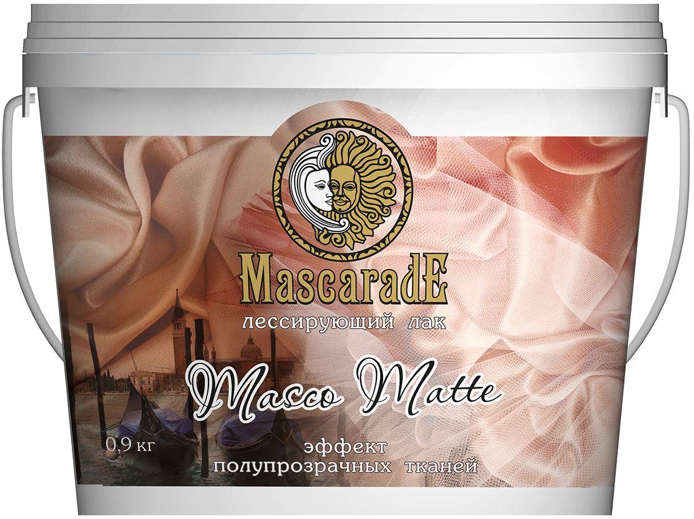 """Лак MascaradE """"Masco Matte"""", матовый прозрачный, 0,9 кг 00000000871"""