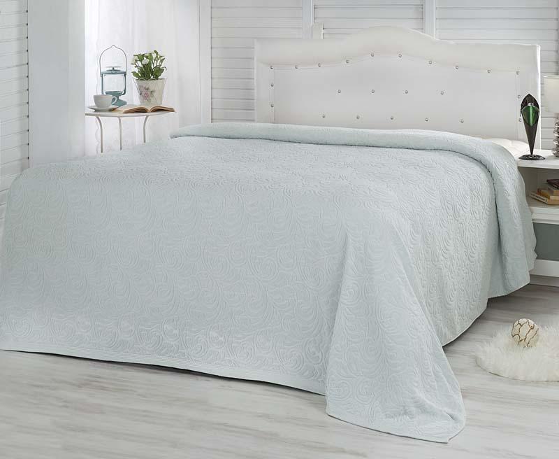 Простыня махровая Karna Esra, цвет: мятный, 160 x 220 см106-026Простыня махровая Karna изготовлена из высококачественных хлопковых нитей.Махровая простыня очень приятная и нежная на ощупь, её можно использовать как простыню, так и в качестве покрывала. Размер: 160 х 220 см.