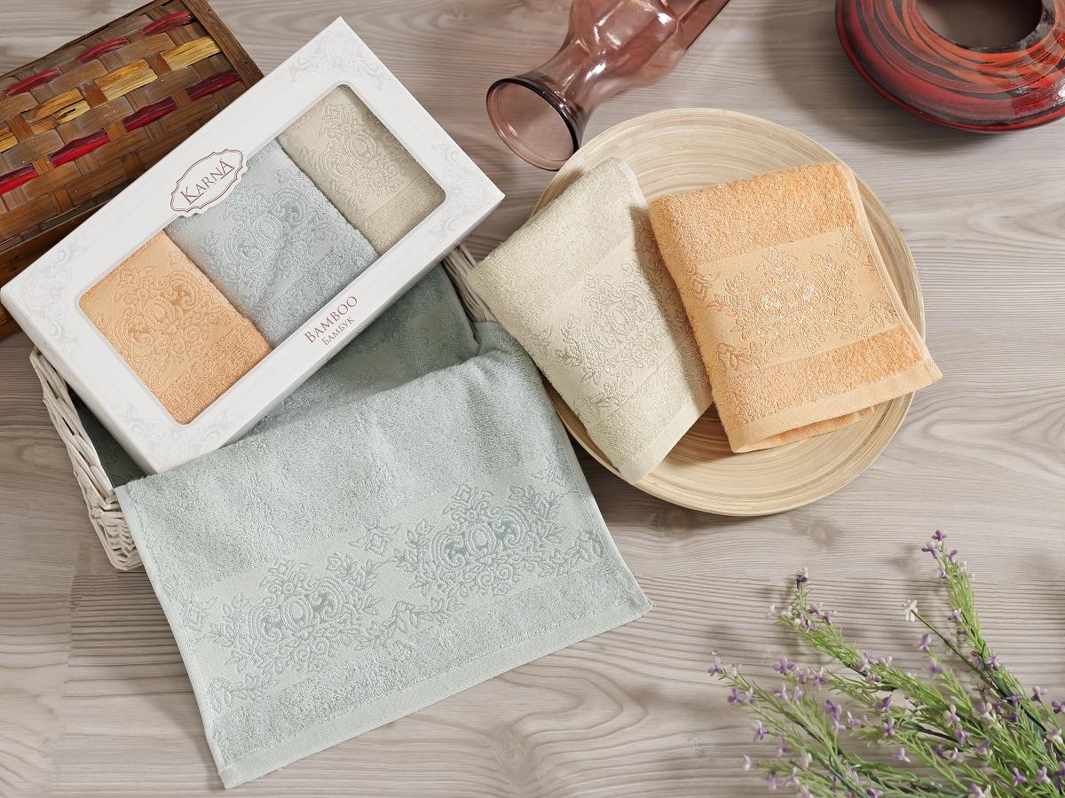 Набор кухонных полотенец Karna Pandora, 30 х 50 см, 3 шт. 2199/CHAR0042199/CHAR004