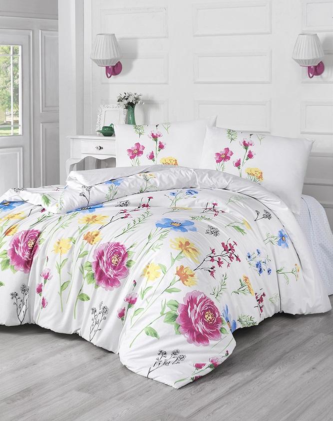 Комплект белья Altinbasak Botanic, 2-спальный, наволочки 50х70297/40