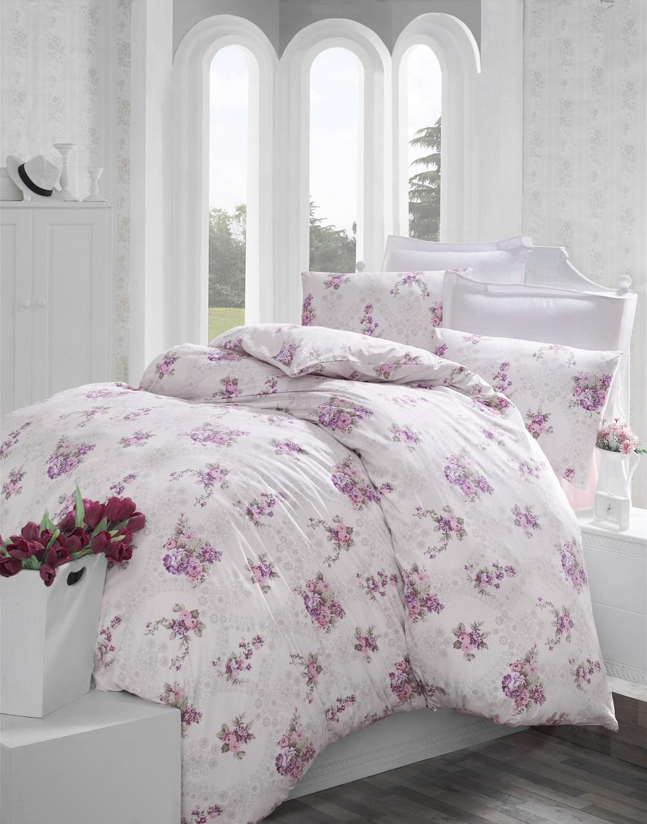 Комплект белья Altinbasak Arnes, 2-спальный, наволочки 50х70, цвет: сиреневый297/5/CHAR002
