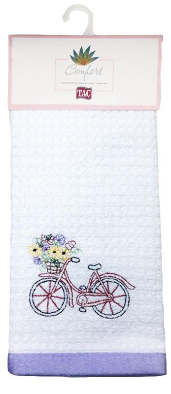 Набор кухонных полотенец TAC Bicycle, 40 x 60 см, 2 шт2999k-89687Практичные полотенца для кухни на каждый день.
