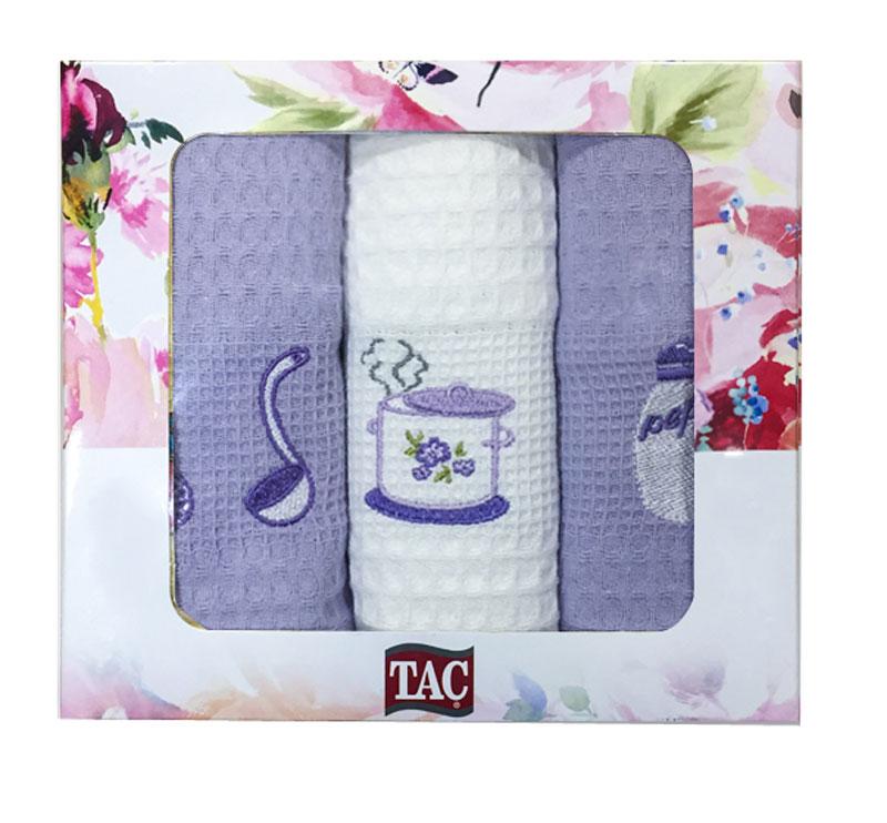 Набор кухонных полотенец TAC Кухня, 40 x 60 см, 3 шт2999n-89695Практичные полотенца для кухни на каждый день.