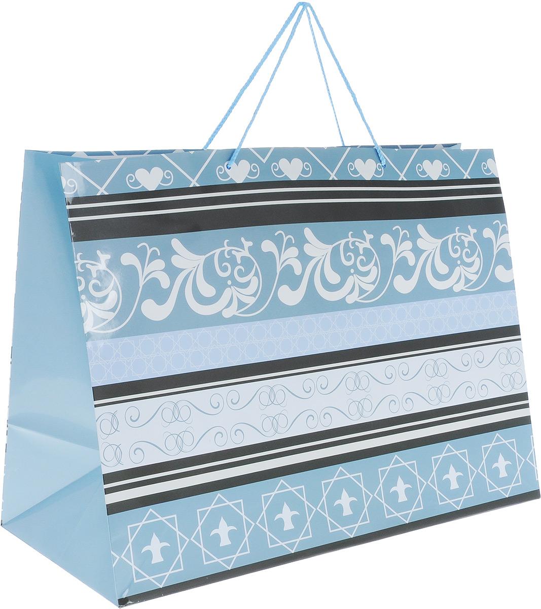Пакет подарочный МегаМАГ Mix. Узоры, 56 х 41 х 24 см. 924/925 XXLH924/925 XXLH_чёрный,белый,серыйПодарочный пакет МегаМАГ Mix. Узоры, изготовленный из плотной ламинированной бумаги, станет незаменимым дополнением к выбранному подарку. Для удобной переноски на пакете имеются ручки-шнурки. Подарок, преподнесенный в оригинальной упаковке, всегда будет самым эффектным и запоминающимся. Окружите близких людей вниманием и заботой, вручив презент в нарядном, праздничном оформлении.