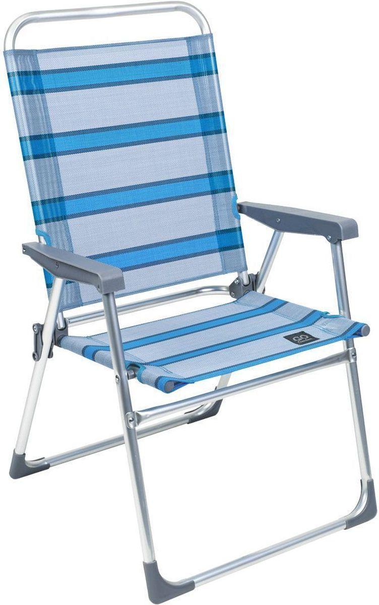 Кресло складное GoGarden Weekend, 52 х 56 х 92 см50325Удобное кресло GoGarden Weekend небольшого размера, очень легкое и компактное, отличный выбор для отдыха на природе или даче. Материал сиденья TEXTILENE устойчив к ультрафиолетовому излучению и образованию плесени. Благодаря своей структуре материал не впитывает влагу, быстро сохнет и очень простой в уходе. Кресло можно хранить на открытом воздухе в течение всего сезона. Сиденье не имеет поперечной рамы, что обеспечивает комфорт при длительном использовании. Конструкция ножек препятствует проваливанию кресла в землю и песок. Рама кресла выполнена из высококачественного 22 мм алюминия. В сложенном состоянии кресло не занимает много места. Размер в разложенном виде: 52 х 56 х 92 см. Размер в сложенном виде: 87 х 55 х 8 см. Вес: 2,35 кг. Максимальная нагрузка: 100 кг.