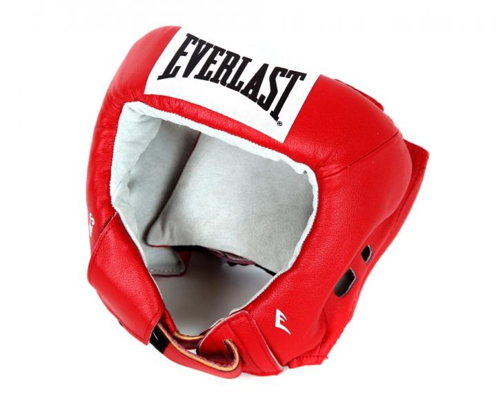 Шлем боксерский Everlast USA Boxing, цвет: красный. Размер L610400UШлем для любительских соревнований. Изготовлен из высококачественной кожи, внутр. Часть отделана замшей. Использован 4х слойный пенный наполнитель. Является официальной экипировкой USA Boxing.