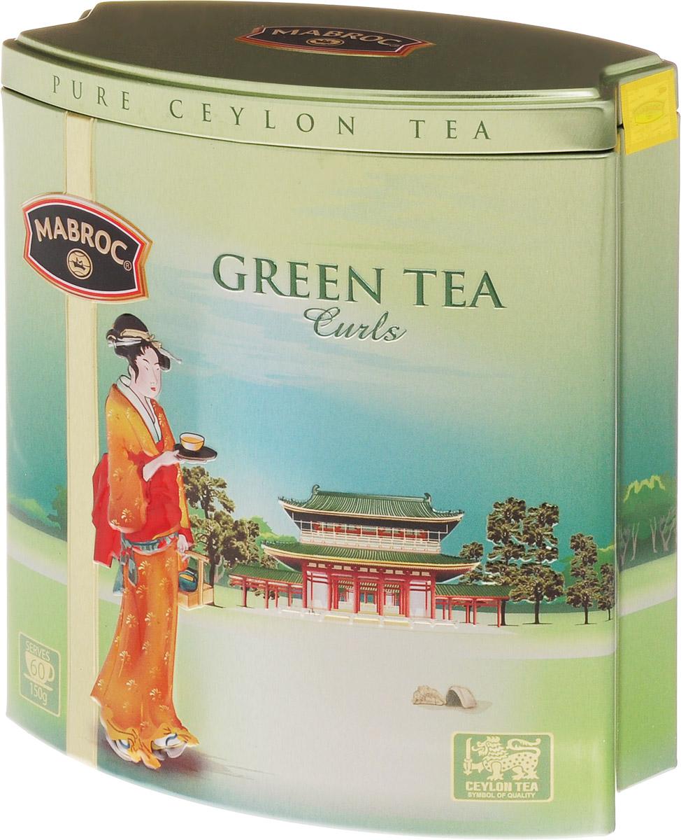 Mabroc Зеленые кольца чай зеленый листовой, 150 г4791029013275Чай Зеленые кольца производится на старейшей зарегистрированной фабрике, на Шри-Ланке. Чай выращивается на самых высоких точках плантаций Нувара Элия, укутанных облаками, и производится по старинной китайской методике. Зеленые спирали имеют легко узнаваемые вкус и аромат. Знак в виде Льва с 17 пятнышками на шкуре - это гарантия Цейлонского Чайного Бюро на соответствие чая высокому стандарту качества, установленному Правительством и упакованному только в пределах Шри-Ланки.