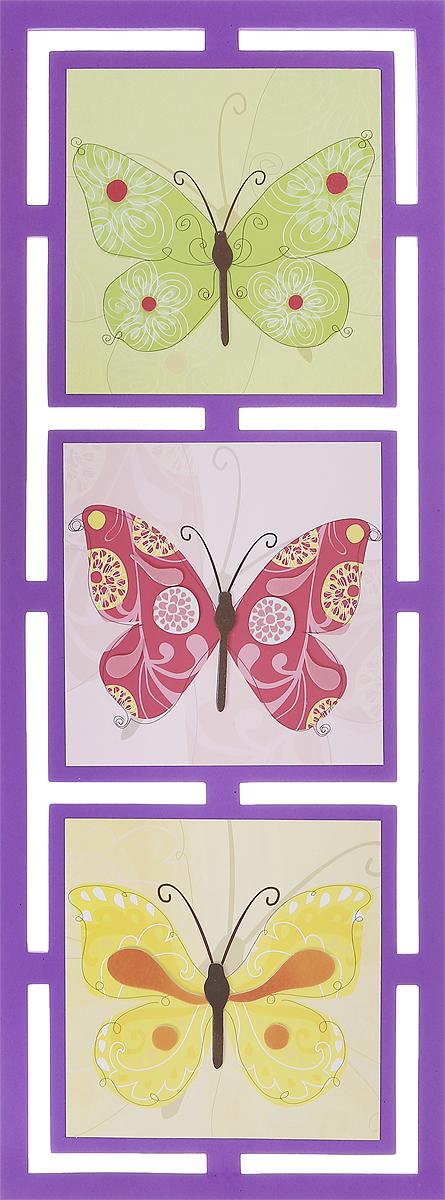 Room Decor Наклейка интерьерная Бабочки470752-524Интерьерная наклейка Room Decor Бабочки - это наклейка на все случаи жизни! Наклейка представляет собой три картины с изображениями бабочек.Украшение мебели, сокрытие царапины на стене или даже декор для скрапбукинга - наклейка станет идеальным вариантом для всего этого. Не стоит искать дорогостоящие наборы для творчества, инструменты, чтобы убрать скол или шероховатость с поверхности любимого шкафа или стола, когда под рукой имеется подобное изделие. Ведь всего пара движений, и ваша задумка уже перед вами! Не ограничивайте свою фантазию! Применение подобных наклеек не вызовет сложностей: быстро крепятся и убираются, при этом не оставляют следов. Привнесите оригинальные нотки в ваш интерьер, придайте яркую индивидуальность каждой частичке вашего окружения!