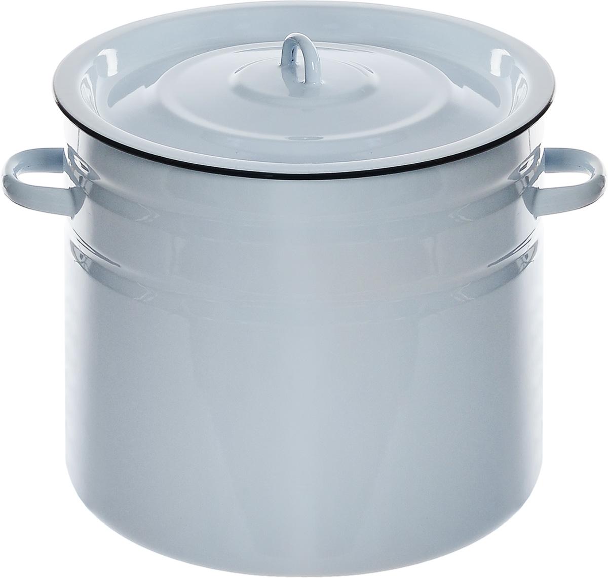 Бак для засолки Эмаль, 20 лVT-1520(SR)Бак с крышкой Эмаль изготовлен из высококачественной стали, покрытой эмалью. Эмалевое покрытие имеет существенные преимущества по показателям безопасности влияния на организм человека, санитарным свойствам, простоте ухода и рассчитан на длительный срок эксплуатации. Прочный корпус из стали гарантирует эффективную тепловую обработку пищи. Бак оснащен плотно прилегающей крышкой.Диаметр бака (по верхнему краю): 33 см.Высота стенок бака 29 см.