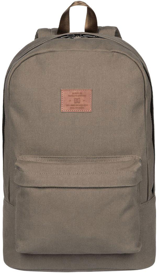 Рюкзак мужской DC Shoes Bunker Canvas, цвет: коричневый. EDYBP03120-TPD0EDYBP03120-TPD0