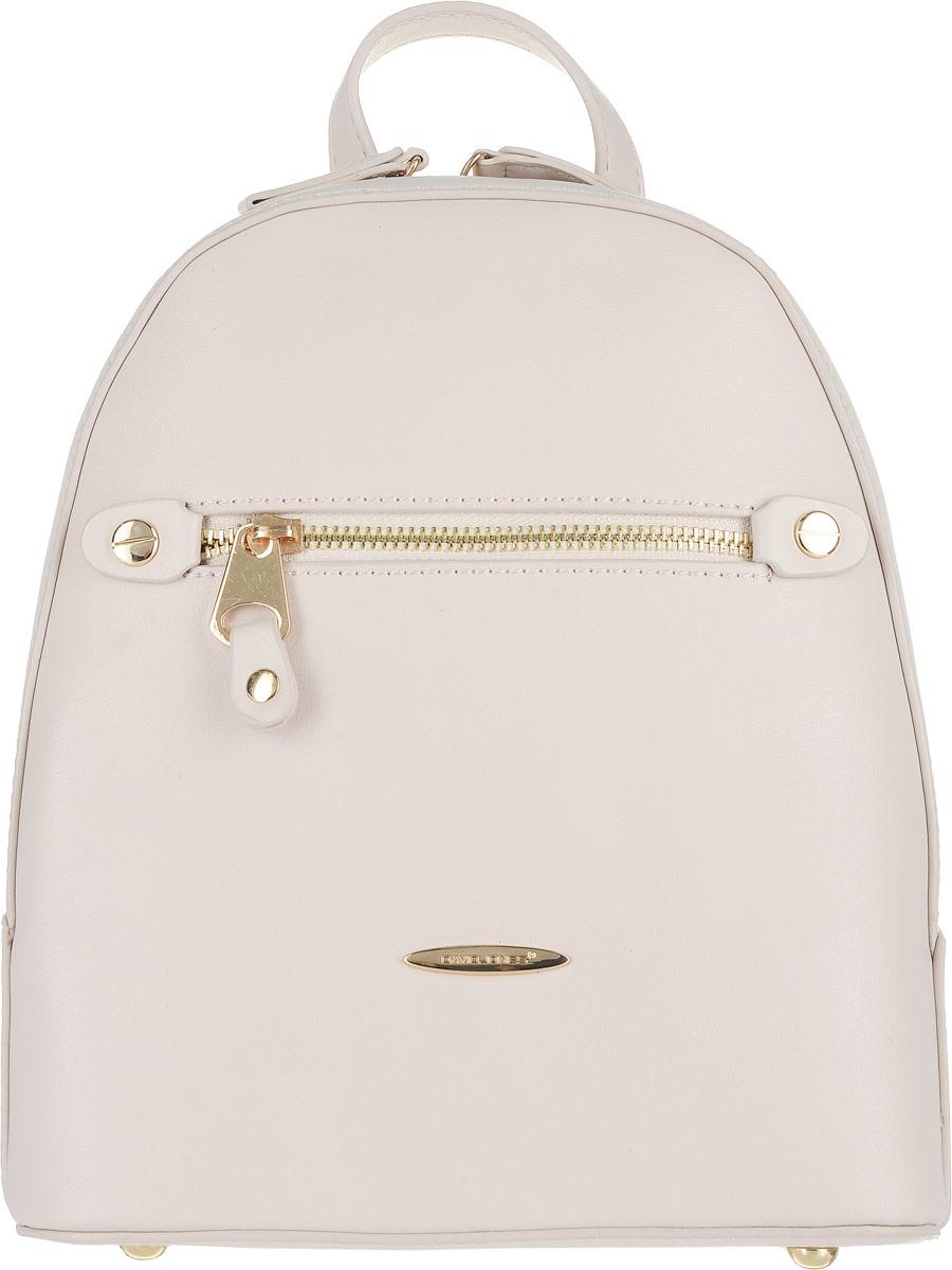 Рюкзак женский David Jones, цвет: пудровый. 5527-3 5527-3 BEIGE