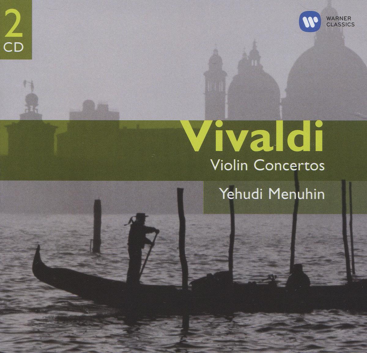 Vivaldi. Violin Concertos. Yehudi Menuhin (2 CD) 2003 2 Audio CD