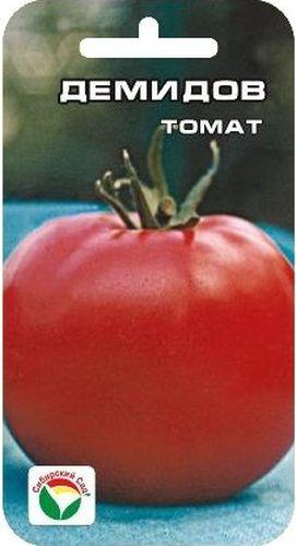Семена Сибирский сад Томат. Демидов, 20 шт19201Среднеспелый сорт салатного типа для возделывания в открытом грунте. От всходов до начала плодоношения 105-110 дней. Куст штамбовый, малорослый. Плоды округлые, плотные, с темно-зеленым пятном, при созревании розово-красной окраски. Средняя масса плода 100-110 г. Пригоден для выращивания с загущением до 6 растений на 1 м2. Урожайность 9-11 кг с 1 м2. Для подкормки используют минеральные комплексные удобрения.Для ускорения процесса всхожести семян, оздоровления растений, улучшения завязываемости плодов рекомендуется пользоваться специально разработанными стимуляторами роста и развития растений.