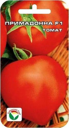 Семена Сибирский сад Томат. Примадонна, 15 штBP-00000614Гибрид Примадонна раннеспелый (от всходов до начала созревания плодов 90- 95 дней). Куст мощный, хорошо облиственный, высотой 120-130 см. Плоды интенсивно-красные, элегантной формы - круглые с носиком, плотные, транспортабельные, очень вкусные, массой до 150 г. Пригодны для приготовления летних салатов и любых видов переработки. Урожайность сорта достигает 16-18 кг с 1 м2. Рекомендуется для выращивания в пленочных теплицах и открытом грунте. Посев на рассаду производят за 50-60 дней до высадки растений на постоянное место. Оптимальная постоянная температура прорастания семян 23-25°С. При высадке в грунт на 1 м2 размещают 3-4 растения. Сорт хорошо реагирует на полив и подкормки комплексными минеральными удобрениями. Выращивается в 1-2 стебля с подвязкой и пасынкованием. Для ускорения процесса всхожести семян, оздоровления растений, улучшения завязываемости плодов рекомендуется пользоваться специально разработанными стимуляторами роста и развития...