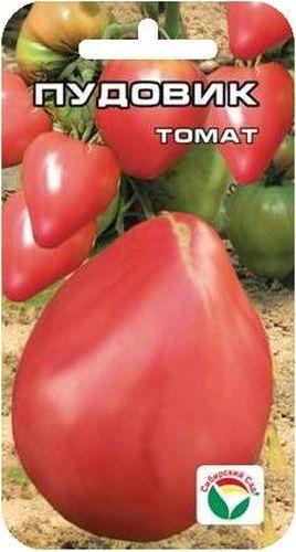 Семена Сибирский сад Томат. Пудовик, 20 штBP-00000615Сорт сибирских селекционеров с очень крупными плодами. При правильном уходе можно вырастить томаты весом до 1,5 кг. Сорт среднеспелый, куст детерминантный, высотой 1-1,5 м. Плоды крупные и красивые, ярко выраженной сердцевидной формы, великолепного вкуса. Урожайность сорта до 5 кг с растения. Сорт предназначен для выращивания в открытом и защищенном грунте. Посев на рассаду производят за 50-60 дней до высадки растений на постоянное место. Оптимальная постоянная температура прорастания семян 23-25°С. При высадке в грунт на 1 м2 размещают 3 растения. Сорт хорошо реагирует на полив и подкормки комплексными минеральными удобрениями. Выращивают в один-два стебля с подвязкой к опоре. Для получения высоких урожаев необходимо обеспечить регулярный полив и подкормки растений в процессе вегетации. Для ускорения процесса всхожести семян, оздоровления растений, улучшения завязываемости плодов рекомендуется пользоваться специально разработанными...