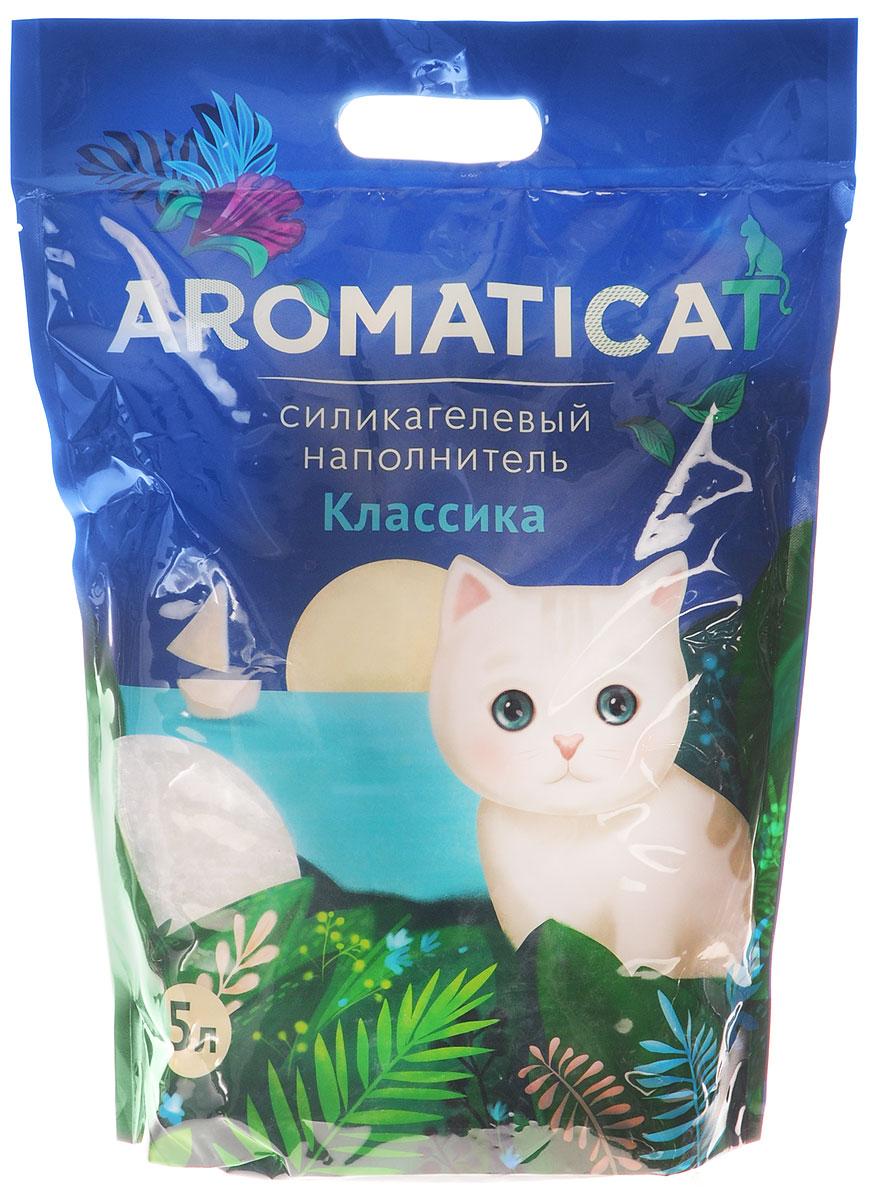 """Наполнитель для кошачьего туалета Aromaticat """"Классика"""", силикагелевый, 5 л 00-00001999"""