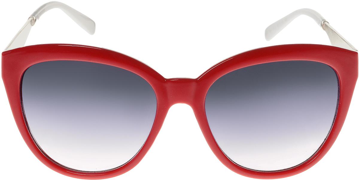 Очки солнцезащитные женские Vittorio Richi, цвет: красный, белый. OC8021c80-10-3/17fBM8434-58AEСолнцезащитные очки Vittorio Richi выполнены из высококачественного пластика и металла. Пластик используемый при изготовлении линз не искажает изображение, не подвержен нагреванию и вредному воздействию солнечных лучей. Оправа очков легкая, прилегающей формы и поэтому обеспечивает максимальный комфорт. Такие очки защитят глаза от ультрафиолетовых лучей, подчеркнут вашу индивидуальность и сделают ваш образ завершенным.